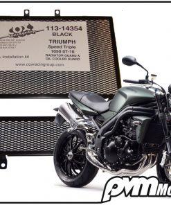 Cox Racing kühlerschutzgitter Speed Triple 1050