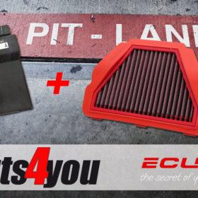 ECUflash mit BMC Racing Luftfilter