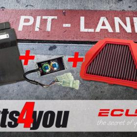 ECUflash mit MST, BMC Luftfilter und ESE Modul