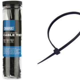 Kabelbinder schwarz - 100-300mm