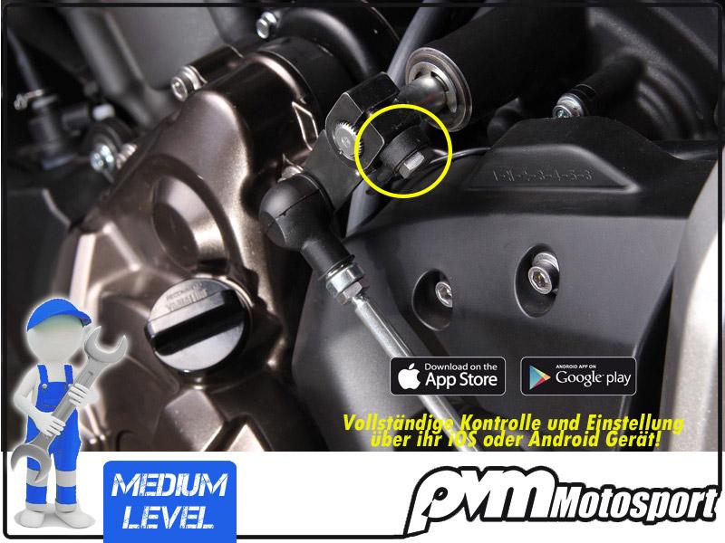 Der Sensor kann in jeder Lage montiert werden