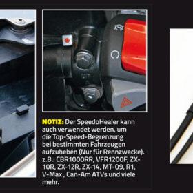 HealTech Electronics Speedohealer V4 Topspeed Abrufen mit Push Knopf